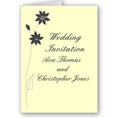 Wedding Invitations personalize. Greeting Cards zazzle.com/cardshere