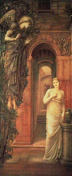 Edward Burne-Jones Annunciation 1879 - Edward Burne-Jones