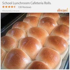 School Lunchroom Cafeteria Rolls | JUST like the ones from your school's cafeteria back in the day...except now you can take as many as you want!
