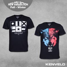 Are you ready to have the coolest t-shirts? Boys, KENVELO fall winter 2013/2014 collection is here!
