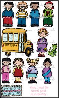 magic school bus inspired bundle by melonheadz