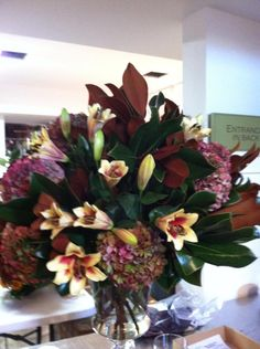 Holiday arrangement for a clients home.