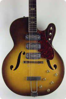 Silvertone / 1429 / 1960 / Sunburst / Vintage Guitar