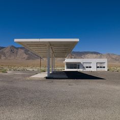 Abandoned Gas Station  Highway 95 near Schurz, Nevada