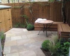 Victorian gardens on pinterest garden architecture - Terraced house backyard ideas ...