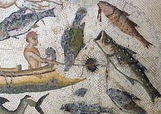 Ancient mosaic.
