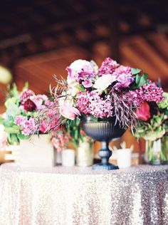 Love this centerpiece- the texture is gorgeous!