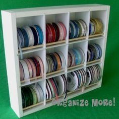 Ribbon Organizer- husband can make