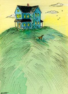 "Nicole Wong ""House on the Hill"" Etsy"
