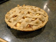 The Abbey's Kitchen: Apple and Redcurrant Pie