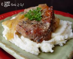 Pork Chops with Caramelized Apples and Onions