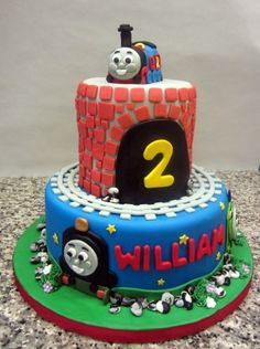 thomas and friends By sweetbrantleys on CakeCentral.com