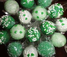 St. Patrick's Day Cake Pops by Baking Smiles