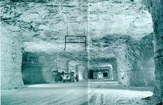 The vast, abandoned salt mines that lurk beneath Detroit