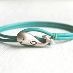 love whales. bracelet