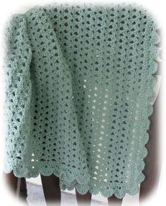 Hailey Crochet Baby Blanket
