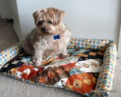 sew your own dog bed.