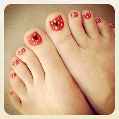 Mickey/Minnie nails