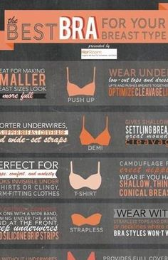 How to find the BEST bra for your breast type!