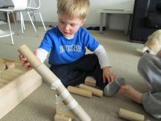 Boy Mama Teacher Mama: Toilet Paper Tube Marble Run