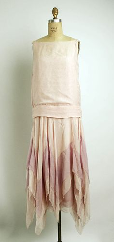 Callot Soeurs Dress - c. 1927 - Attributed to Callot Soeurs (French, active 1895-1937) - Silk - @~ Watsonette