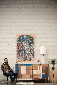 patchwork credenza from kith&kin