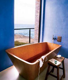 Coolest Hotel Bathtubs: Estancia Vik, Uruguay | Travel + Leisure - June 2013