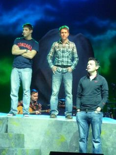Celtic Thunder Sound Check 2 Dec 2013