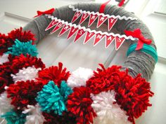 Scrap-Making: Christmas Wreath
