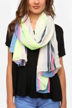 UO stripe scarf