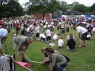 The 2012 World Alternative Games Worm Charming Championships will take place on August 21.