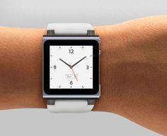 Apple's iPod Nano wrist watch