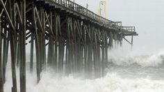 How to Talk to Your Kids About Hurricane Sandy    http://abcnews.go.com/blogs/lifestyle/2012/10/how-to-talk-to-your-kids-about-hurricane-sandy/ carolina beach, beaches, mother natur, wave, weather, hurricane sandy, storm, beach pier, hurrican sandi