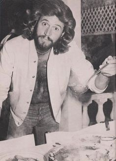 Barry Gibb Wife Young