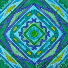 artists, art project, art lesson, names, kid artist, 5th grade, kids, letters, name art