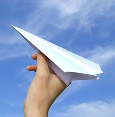 largest paper airplane EVER!