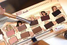product, nudetud palett, color palettes, thebalm nudetud, goddesses, makeup palett, beast beauti, eyeshadows, beauty