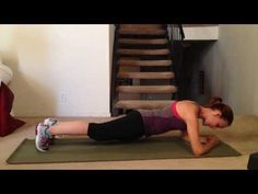 Best Exercise to Improve Core Strength - Plank Variation Hip Twist Workout #workout #exercise #fitness #core #strength