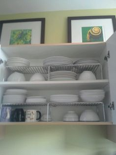 Maximizing the space in our cupboards #organization