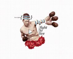 Fight to live by Nicolás Cuello, via Behance