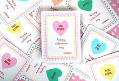 Sweetheart Classroom Cards