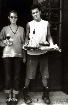 Johnny Depp: A Lady's Best Accessory http://intothegloss.com/2014/05/johnny-depp-girlfriends/