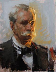 tradit art, paint head, inspir portrait, ignat ignatov, classic portrait, portrait paint, light, artist ii