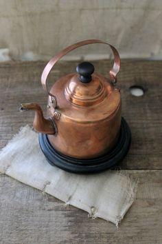 little copper kettle