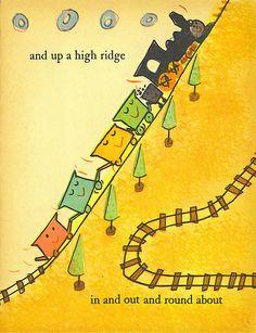 Down and around. Leonard Kessler wonder book c1958