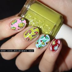 christma skittl, green, paper, first christmas, christmas nails, nail arts, nail nailart, christmas nail art, christma nail
