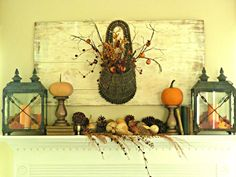 Kate's Place: Fall Mantle