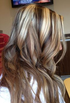 blonde highlights with lowlights pictures | Dark brown lowlights and blonde highlights | Beauty