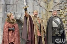 """Reign -- """"Long Live the King"""" -- Image Number: RE121a_0150.jpg -- Pictured (L-R): Megan Follows as Queen Catherine, Alan Van Sprang as King Henry and Gil Darnell as The Duke of Guise -- Photo: Ben Mark Holzberg/The CW -- © 2014 The CW Network, LLC. All rights reserved."""