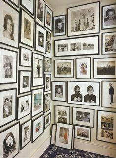 walls of frames